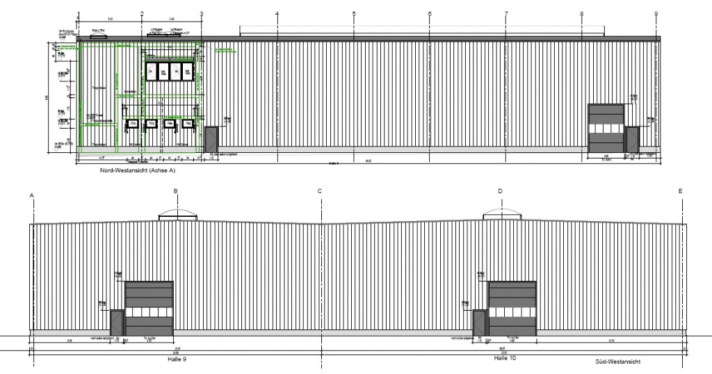 Sideka Energietechnik GmbH erhält Auftrag für Elektroarbeiten zwei neuer Werkshallen