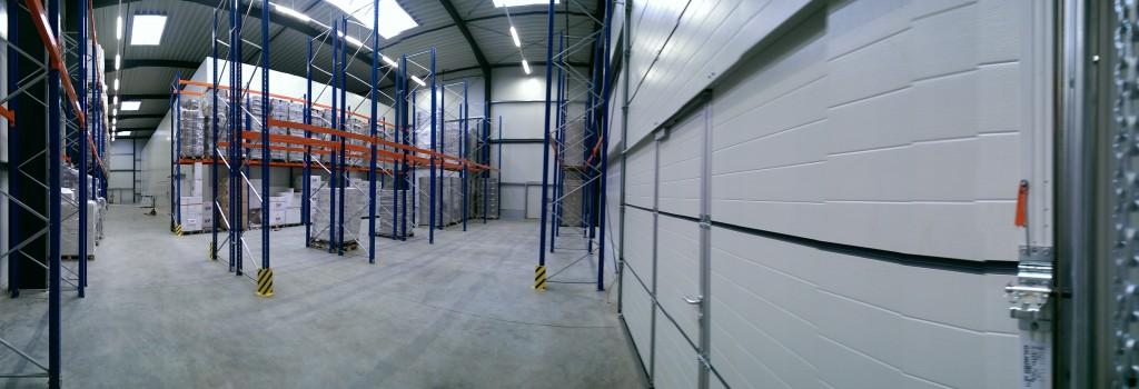 Logistiklager einer International Food Group in Rheine– Elektroarbeiten sind abgeschlossen